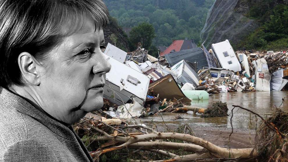 Flutkatastrophe: Merkel wurde Tage vorher gewarnt und ließ über 150 Deutsche ertrinken